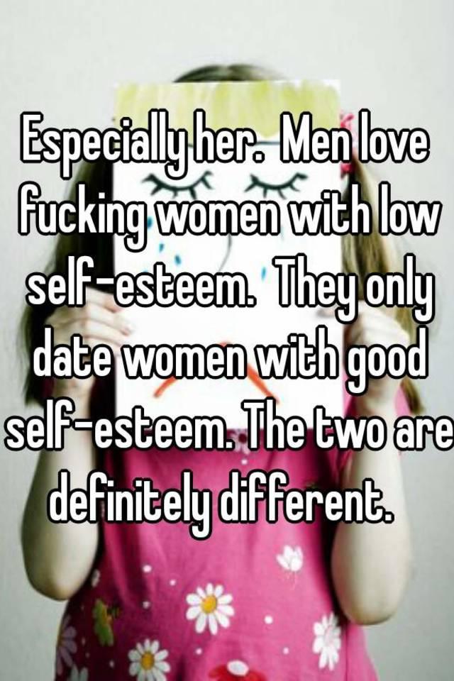 dating a low self-esteem man