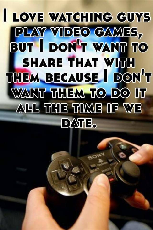 What is the game guys play when dating