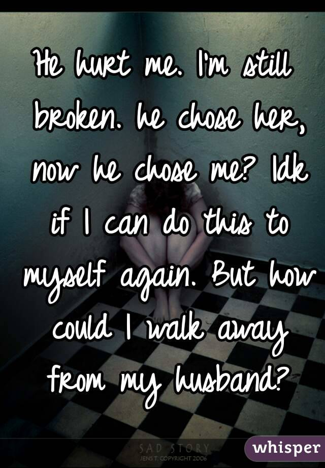 why he chose her