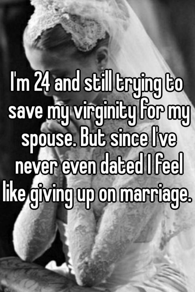 Giving up virginity