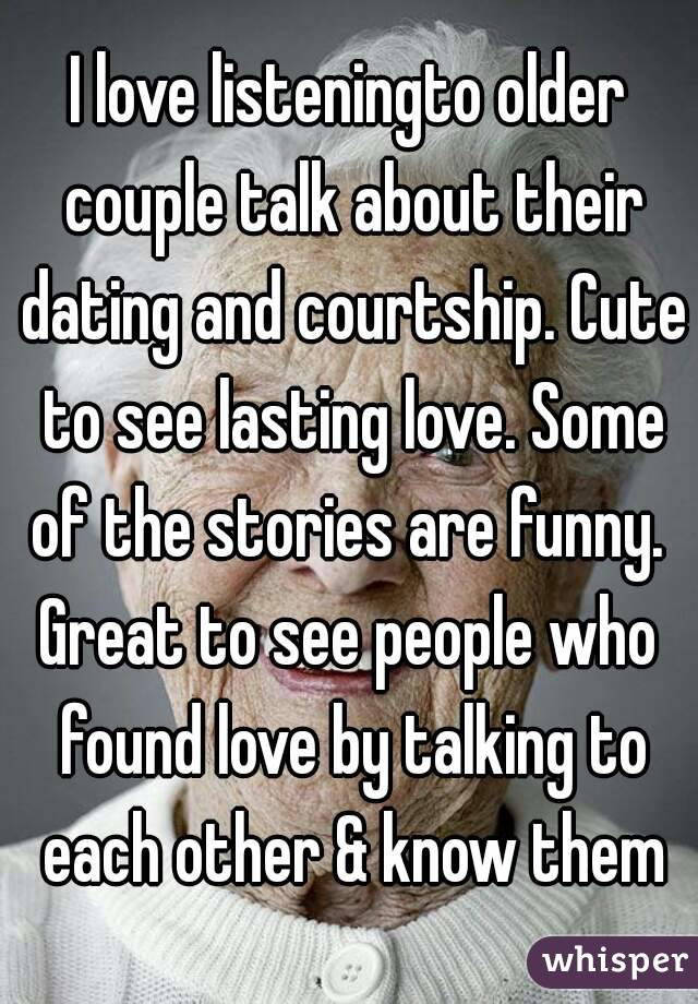 Great dating stories