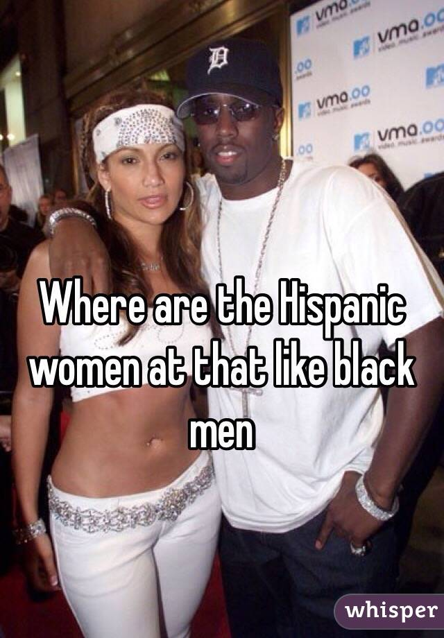 Spanish Men Who Love Black Women