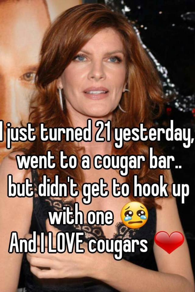 Hook Up With Cougars