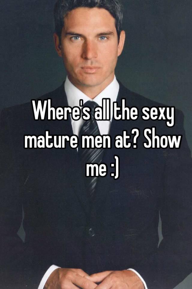 Sexy maature men