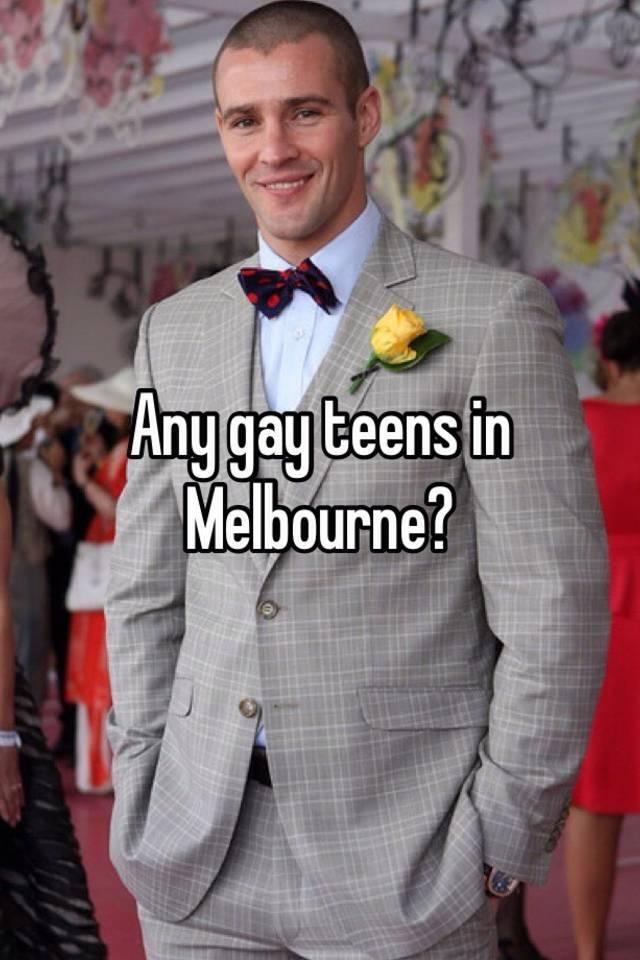Melbourne gay teens