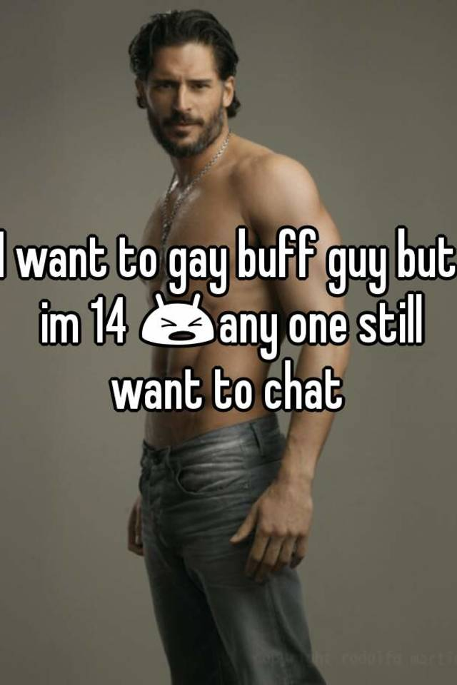 Buff gay guy