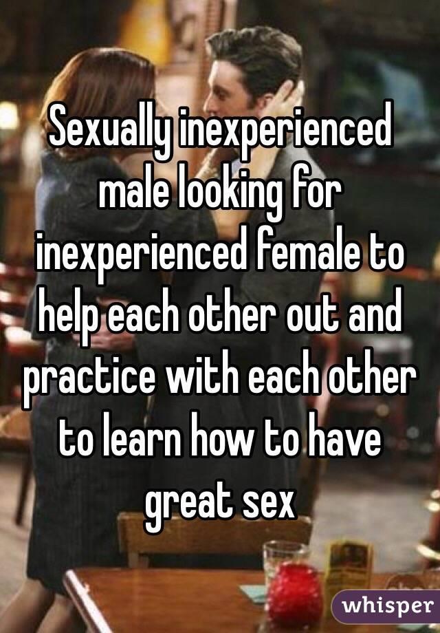 Sexually inexperienced