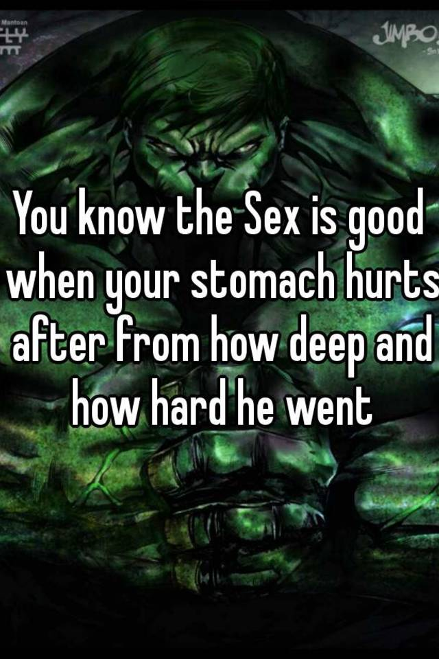 How sex is good