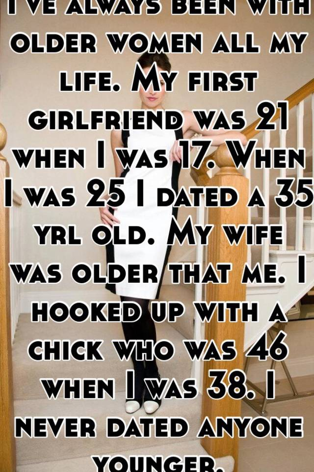 hooking up with an older woman