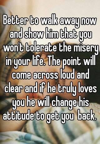 Walk away to get him back