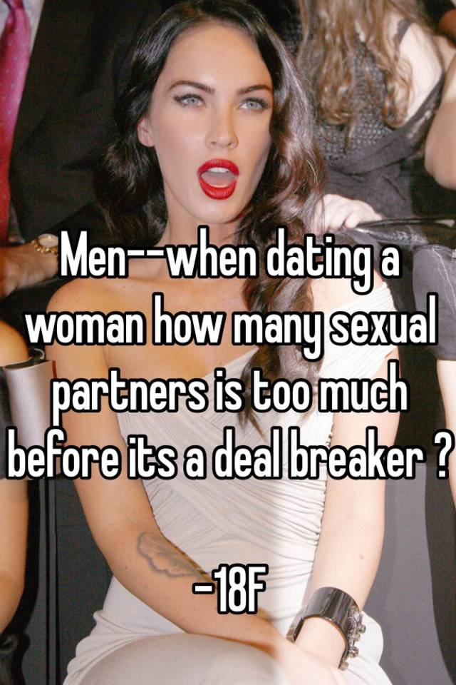 How many sex partners is too many for a woman