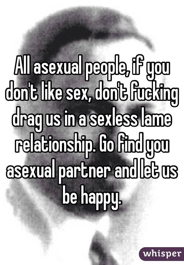 How to find an asexual partner