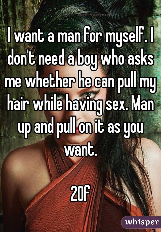 I want a boy for sex