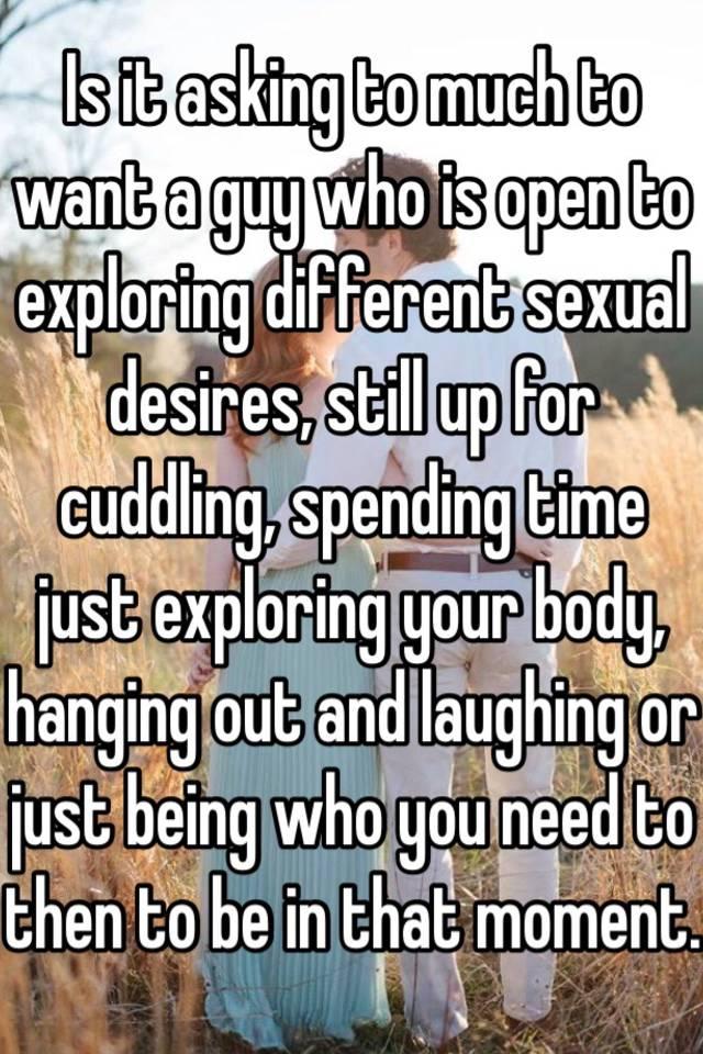 Exploring your body sexually