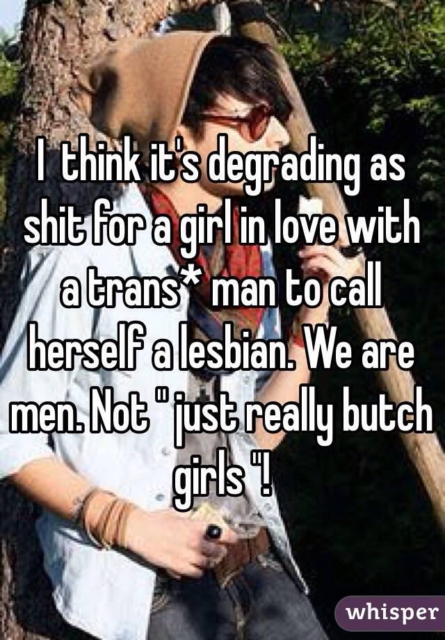 Lesbian lover shit