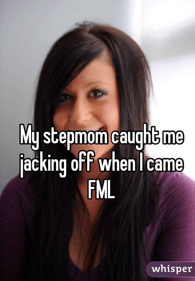 Stepmom Caught Me Jerking Off