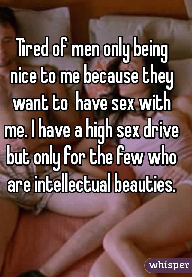 High sex drive in men
