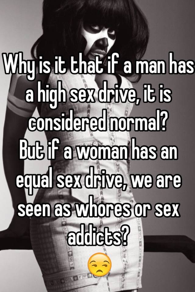Woman with high sex drive