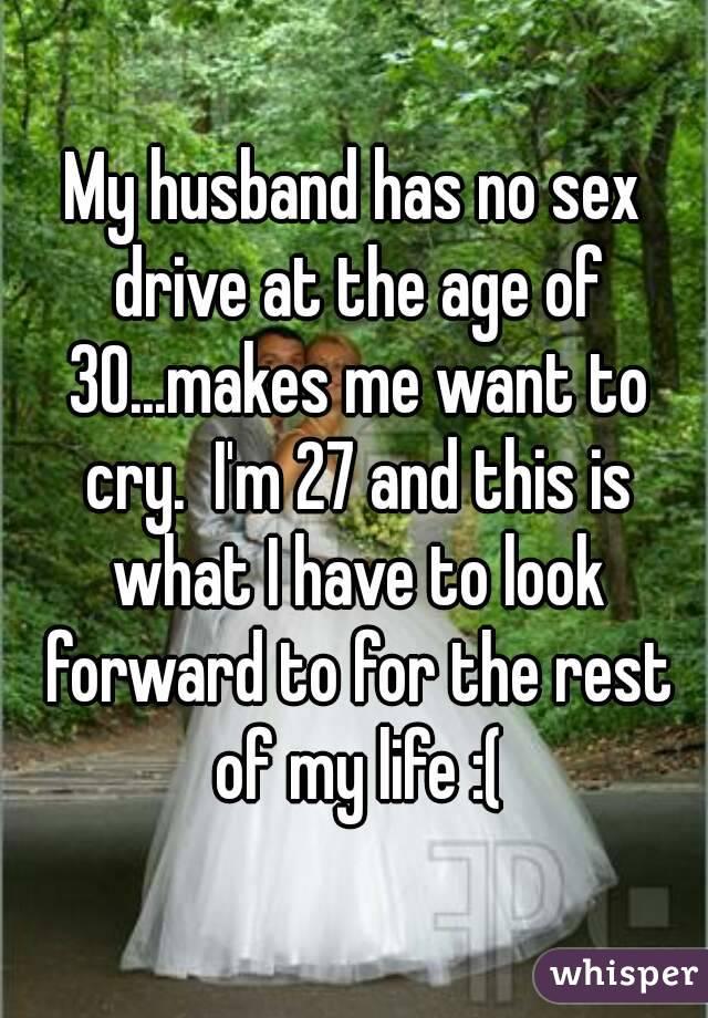 My husband has no sexdrive