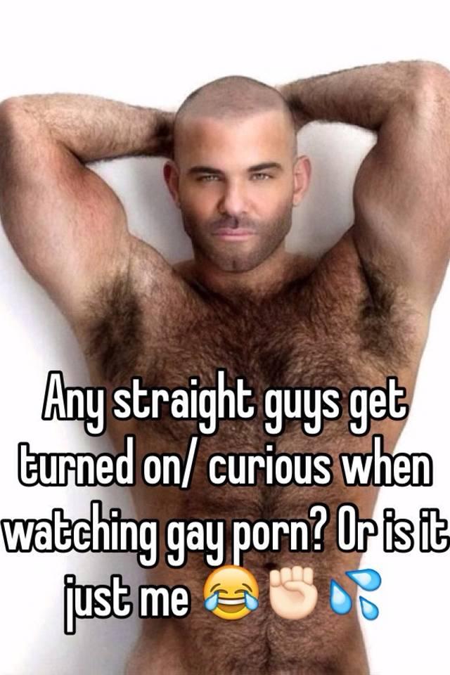 Straight curious gay porn