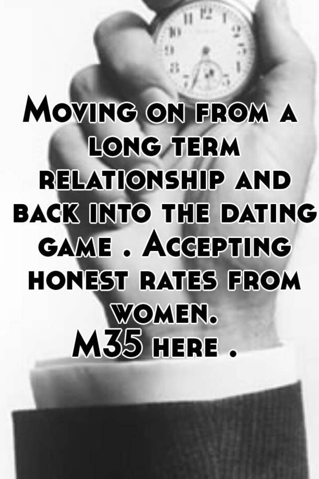 Moving dating into relationship