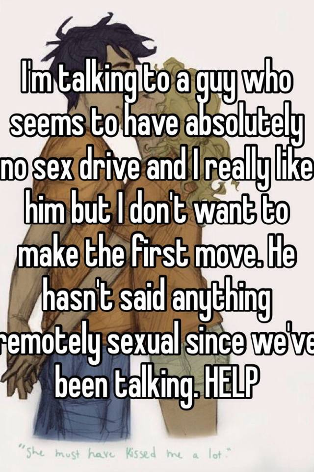 Making the first move on a guy sexually
