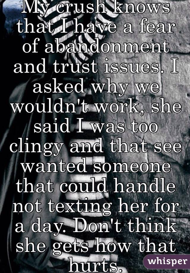 fear of abandonment issues