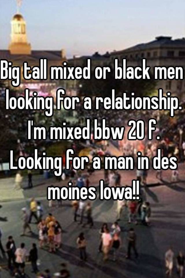 Men looking for bbw