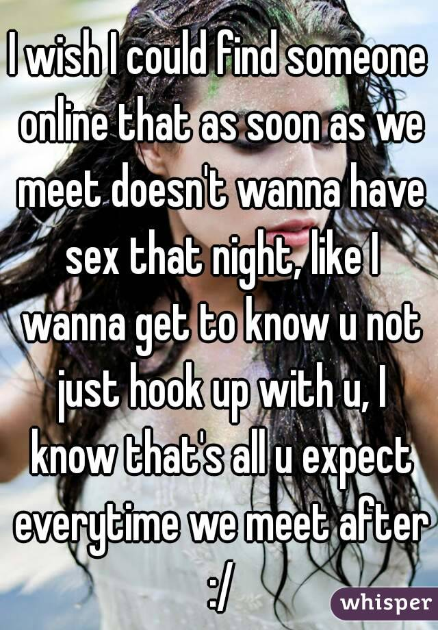 Find Someone To Hook Up With