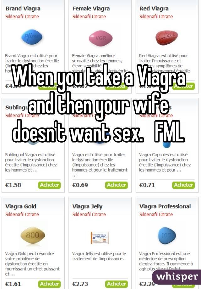 Took 3 viagra