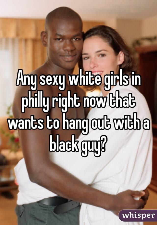 Hot girls with black guys