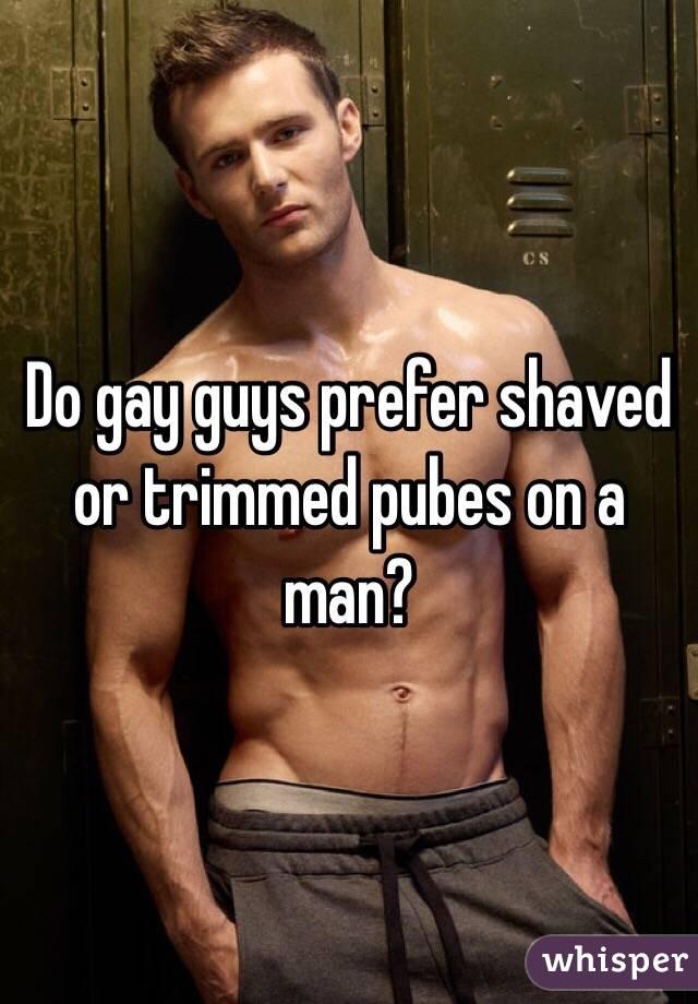 trimmed gay men