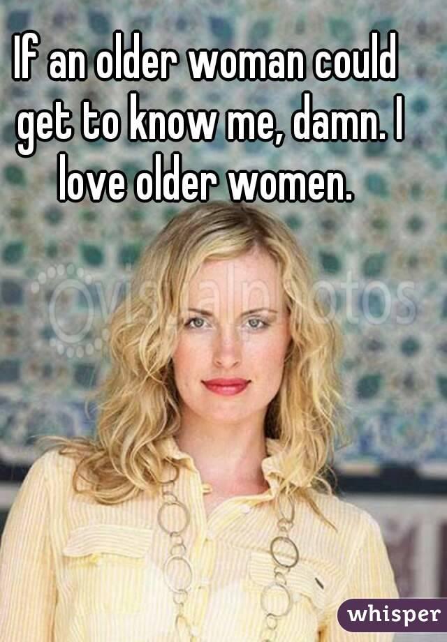Пожилые женщины ласки