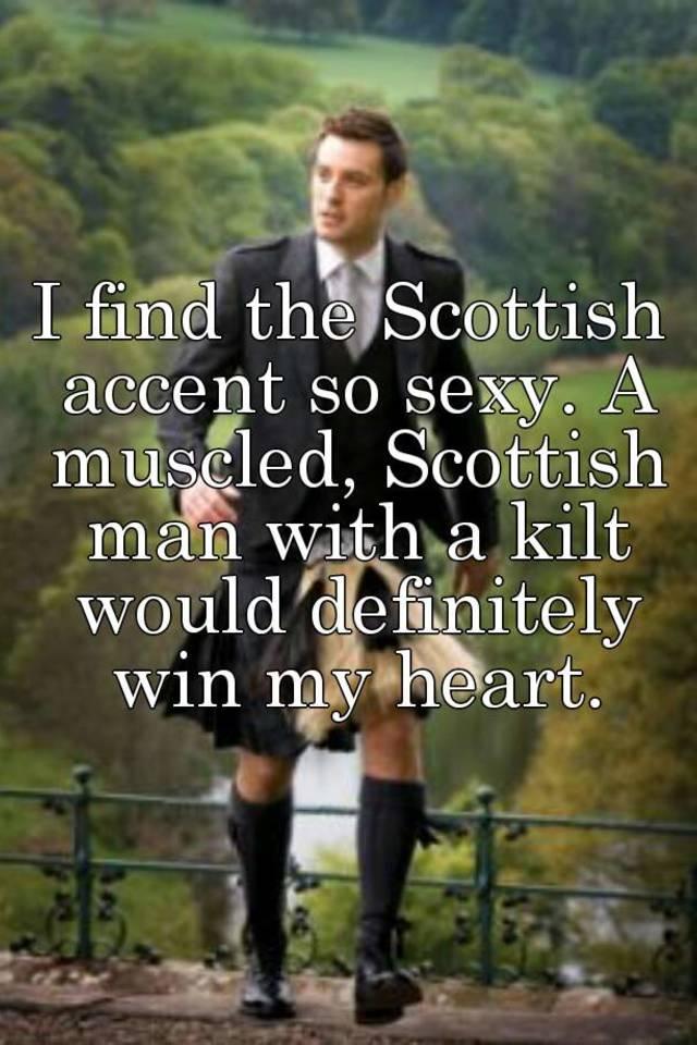 A scottish man