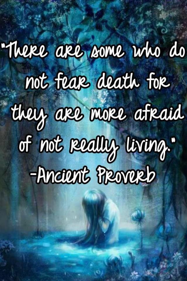 Should you be afraid of death