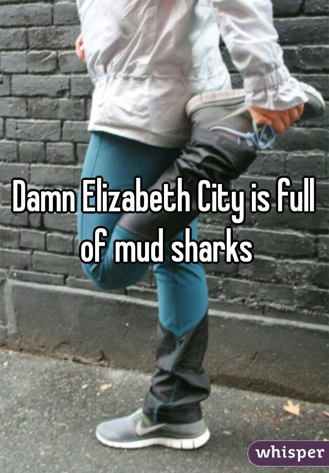 Damn Elizabeth City is full of mud sharks