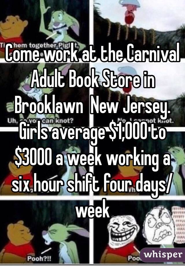 nj Adult book store in