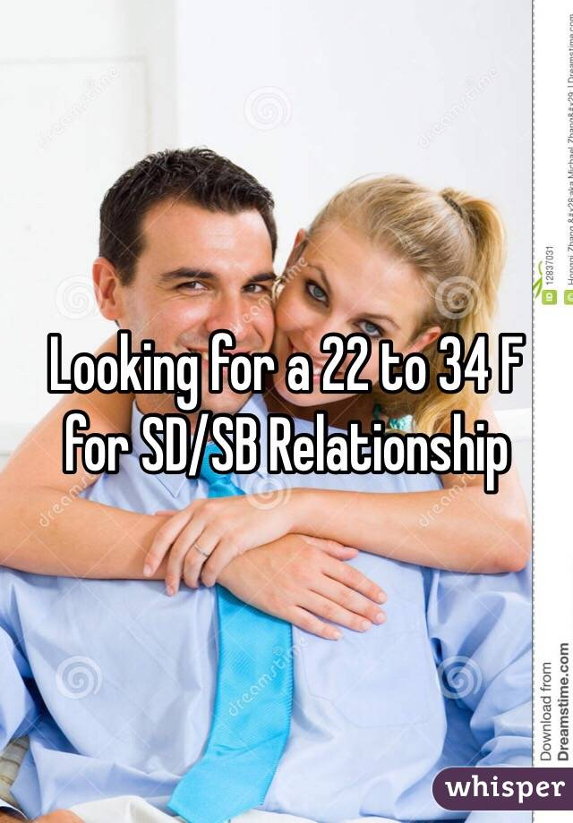 Looking for a 22 to 34 F for SD/SB Relationship