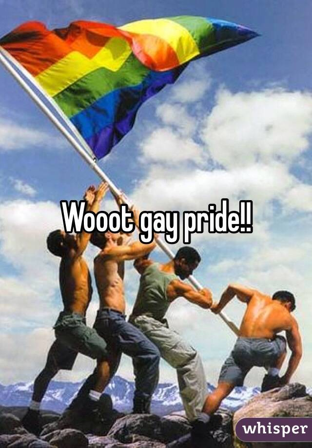 Wooot gay pride!!