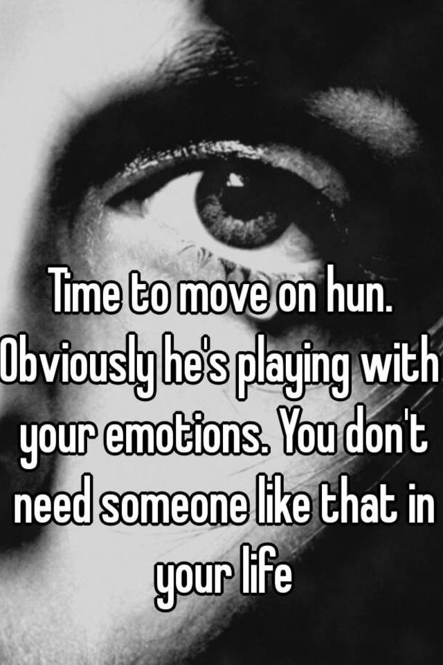 Emotions With Someone When Plays Your Payee