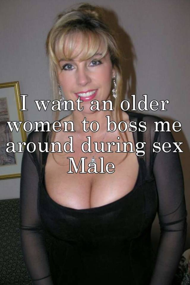 Having Sex With An Older Women