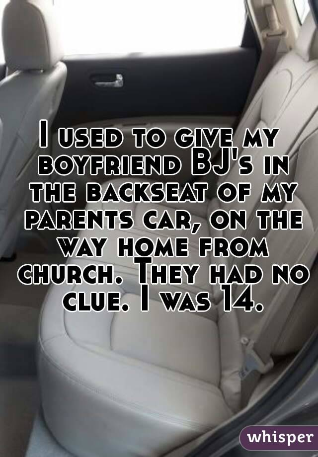 Back seat bj