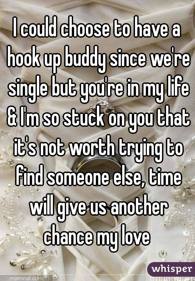 Hookup someone when youre in love with someone else