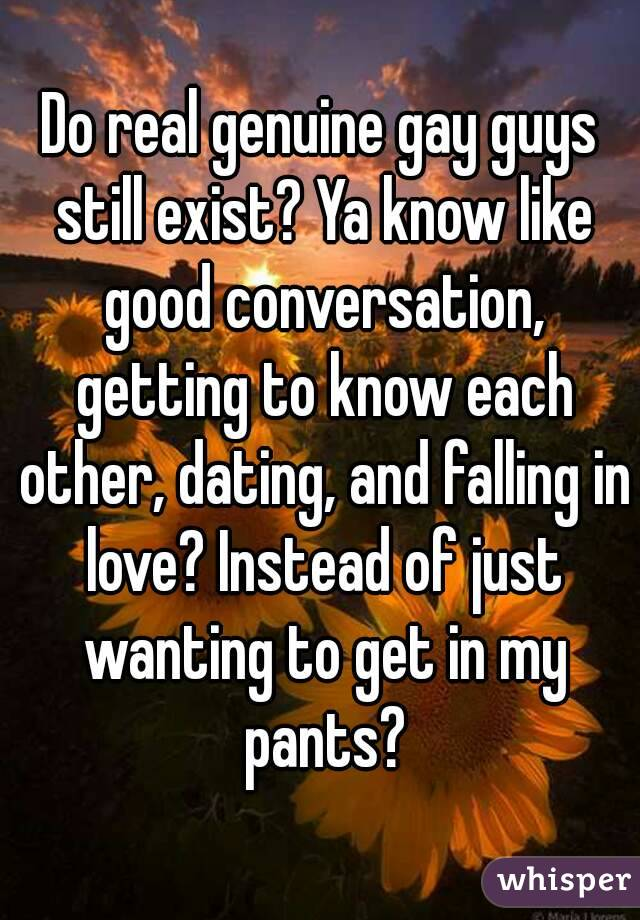dating getting to know each other