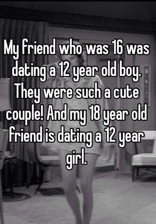 18 year old guy dating a 16 year old