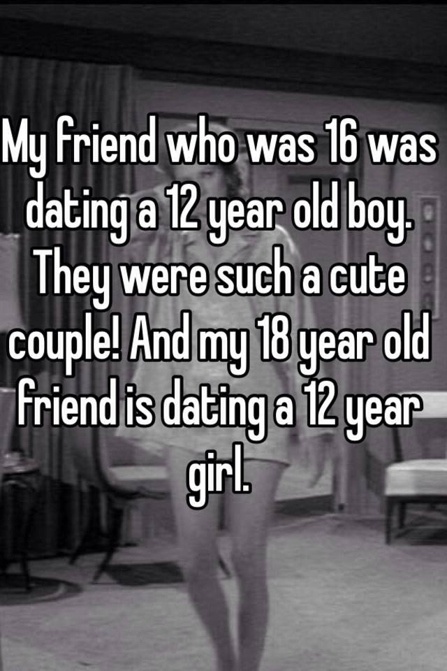 can an 18 year old date a 16 year old