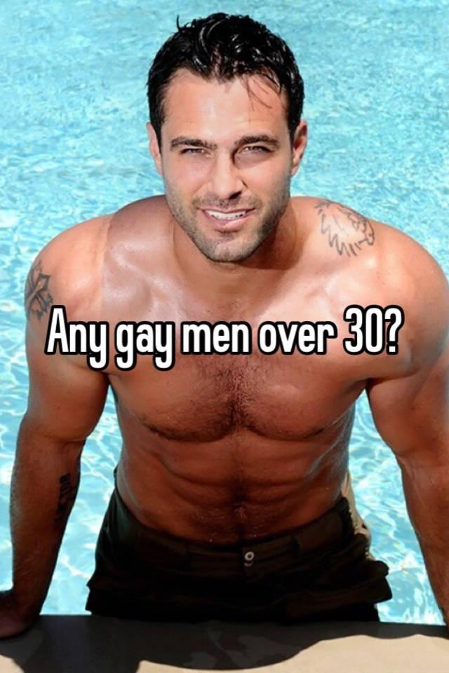 Gay men over 30