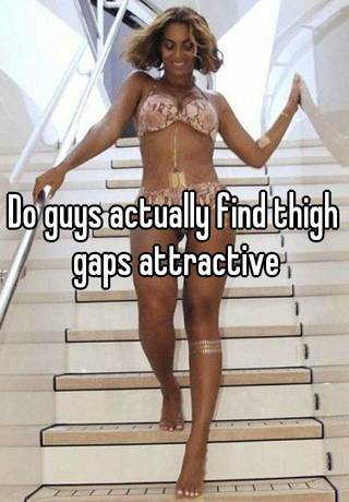 why is a thigh gap attractive