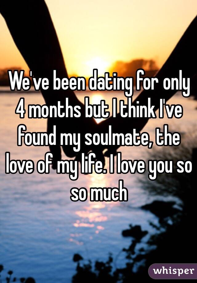 Dating For 4 Months And No I Love You