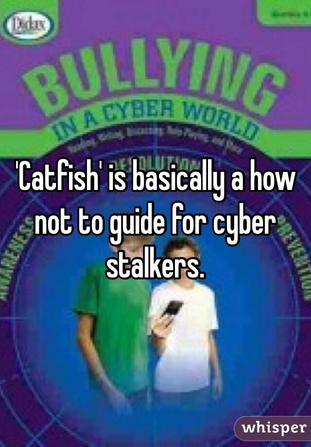 'Catfish' is basically a how not to guide for cyber stalkers.
